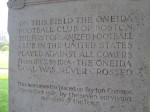 text of football monument