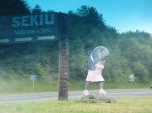 Sekiu town mascot