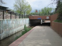 bike path underpass