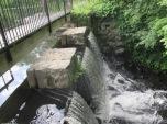 Mann's pond dam and footbridge