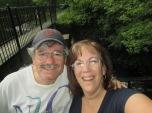 selfie at Mann's Pond