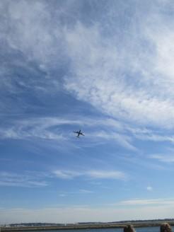 departing Logan Airport