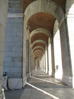 courtyard corridor