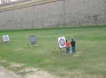 archery at the Castle