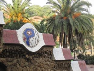 Gaudi's mosaic sign age