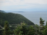 Cabot trail below