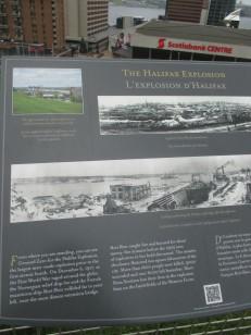 Halifax Explosion marker
