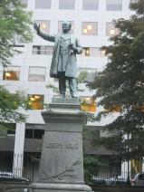 Joseph Howe, championed freedom of the press