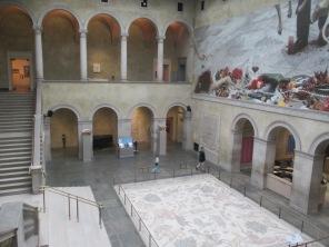 mosaic foor, wall mural