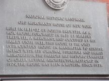 Merchant House marker