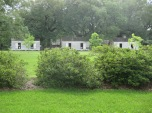 Oak Alley slave cabins