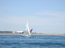 sailboat/plane