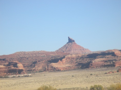 six shooter monument