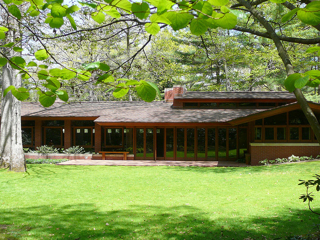 Frank Lloyd Wright's Zimmerman House, Manchester NH 12-18 ...