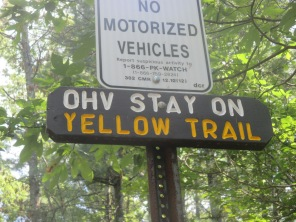 OHV = Off Hiway Vehicles